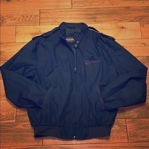 Vintage MEMBERS ONLY green bomber jacket size 42L
